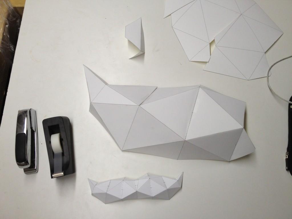 Mustache Scale model